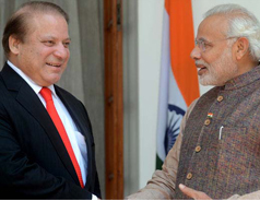 Modi & Sharif meet in Russia
