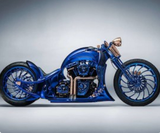 The world's most expensive bike costs ₹12.2 crore