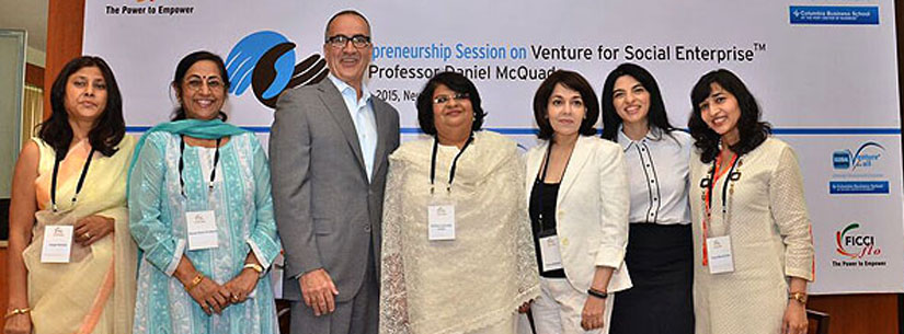 Delhi, 28th May, 2015 Entrepreneurship Session with Prof. Daniel McQuade organized by FLO