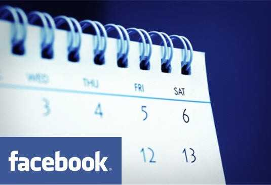 Scheduling of Content on Facebook