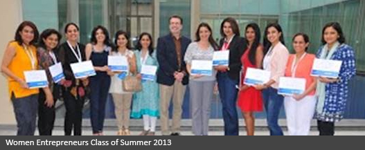 women entrepreneurs class of summer 2013