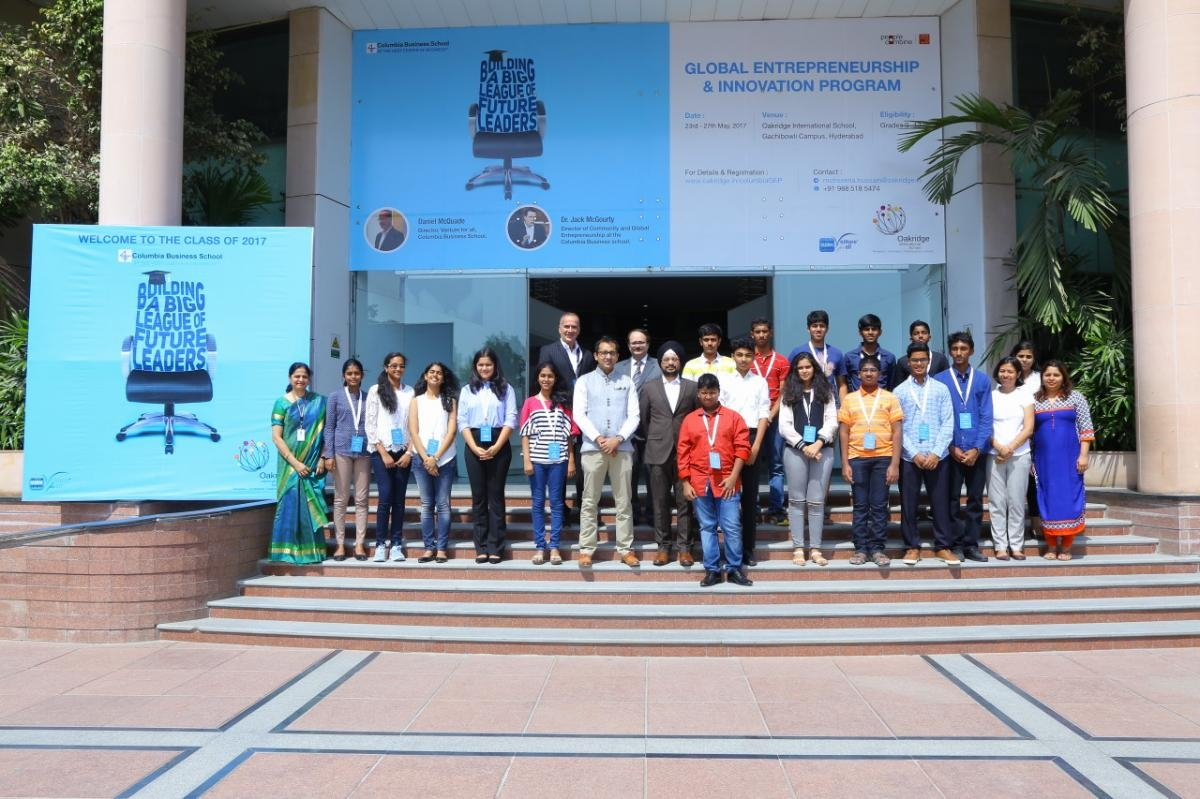 Global Entrepreneurship & Leadership Innovation Pre-College Course, Hyderabad, 2017