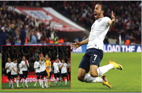 ENGLAND BEAT POLAND  TO QUALIFY FOR 2014 WORLD CUP