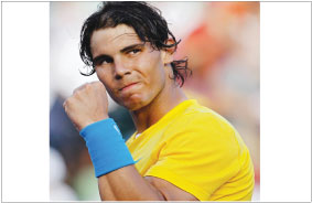 RAFAEL NADAL CONTINUES TO BE ON TOP OF ATP RANKINGS