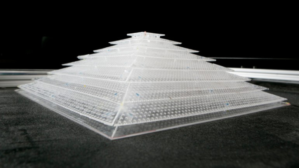 The world's first 3-D acoustic cloak