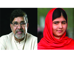 India's Satyarthi & Pakistan's Malala win Nobel Peace Prize