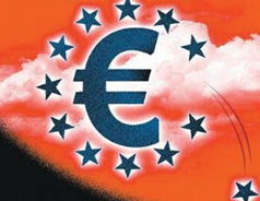Eurozone prices falling for the first time since 2009