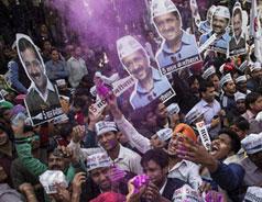 Arvind Kejriwal's AAP gets staggering 67 seats