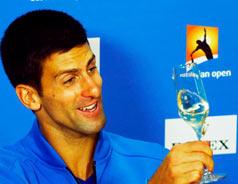 Djokovic reigns supreme at Australian Open