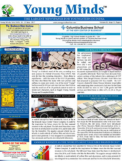 Young Minds, Volume-IX, Issue-51