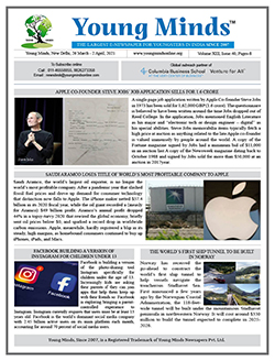 Young Minds, Volume-XIII, Issue-40