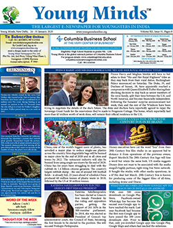 Young Minds, Volume-XII, Issue-31