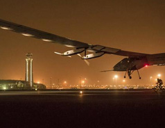 The World's First Solar-Powered Aircraft Lands In Ahmedabad