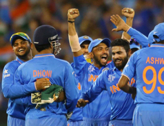 India's 9th Straight Win in World Cup Matches