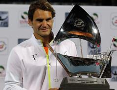 Roger Federer Lifts Dubai Open Title