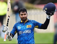 Kumar Sangakkara hits record fourth successive ODI ton