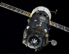 Out-of-control Russian cargo ship plunging to Earth