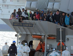 OVER 700 MIGRANTS FEARED DEAD IN MEDITERRANEAN BOAT ACCIDENT