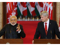 Canada to sell uranium to India