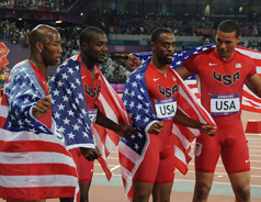 US men's relay team stripped of 2012 Olympic silver