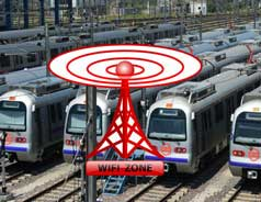 Five Delhi Metro stations to get Wi-Fi soon