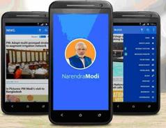 Prime Minister Launches 'Narendra Modi Mobile App'