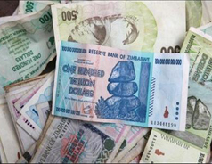 Zimbabweans to get $5 for 175 quadrillion local dollars