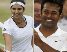 Leander Paes, Sania Mirza Lead India's Glory at Wimbledon 2015