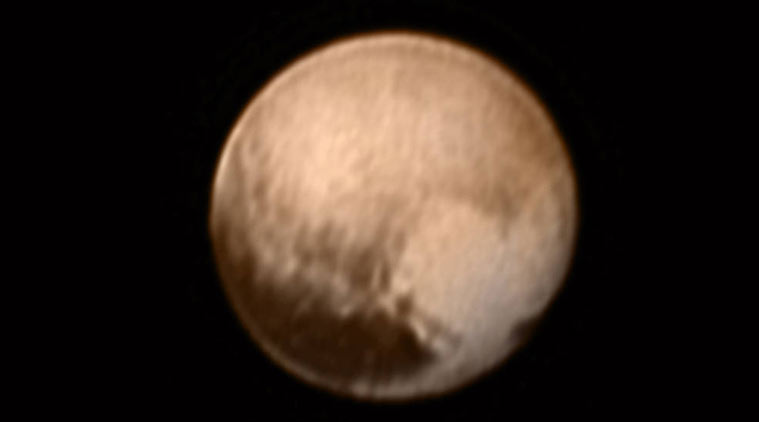 Pluto has a heart!