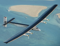 Solar Impulse breaks solo record