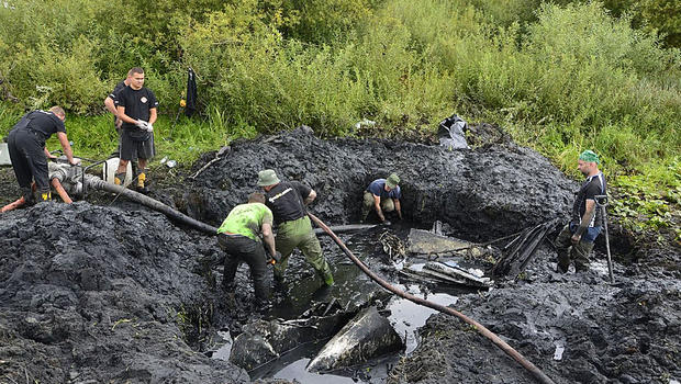 World War II plane, crew remains have been found in Polish river bed. The uncovered remnants are part of the larger story of a devastating war that played out across Poland from 1939-1945: a German invasion from the west, a Soviet invasion from the east, the murder of Jews across occupied Poland and fighting between the Soviets and Germans after Adolf Hitler turned on former ally Josef Stalin.