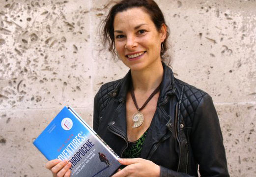 The UK's premier prize for science books has been won by Gaia Vince - the first female writer to claim the award outright in its near 30-year history. Adventures in the Anthropocene is her record of the people and places she encountered on a huge global tour. The book details how humans are altering the planet, but it also tells the stories of how we are learning to limit and cope with that change. The Royal Society Winton Prize is worth £25,000 to the winner.