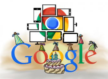 Google turns 18