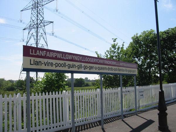 Llanfairpwllgwyngyllgogery-chwyrndrobwllllantysiliogogogoch is the official name of a village in Wales.