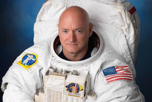Waking up hundreds of miles above the Himalayas, astronaut Scott Kelly broke the U.S. record for the most time spent in space with 383 days.Kelly is more than halfway through a yearlong mission at the International Space Station and will eventually set a record for the longest single U.S. space mission.