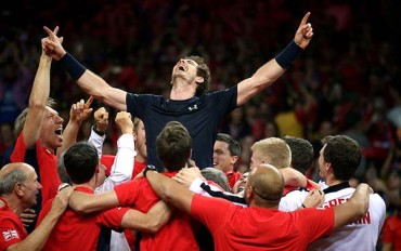Murray gives Britain its first Davis Cup title in 79 years