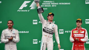 Nico Rosberg wins Brazilain Grand Prix 2015