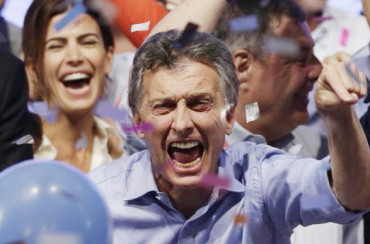 Opposition candidate Macri wins Argentina's presidential election