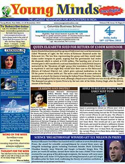 Young Minds, Volume-VIII, Issue-20