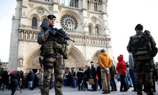 Terror alert ahead of New Year celebrations