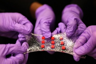 The sticky, stretchy and smart 'Band-Aid of the future'