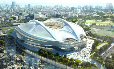 Tokyo Olympic stadium gets new design