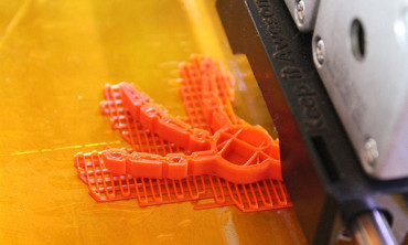 The world's 1st 3D printed object