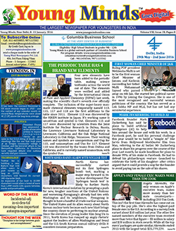 Young Minds, Volume-VIII, Issue-28