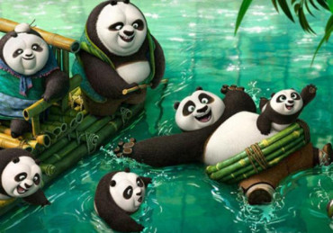 'Kung Fu Panda 3′ tops box office