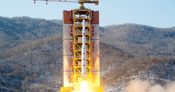 North Korea fires long-range rocket despite warnings