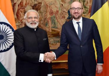 Modi & Belgian PM launch Asia's biggest telescope