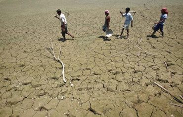 Above-average rainfall in India in 2016