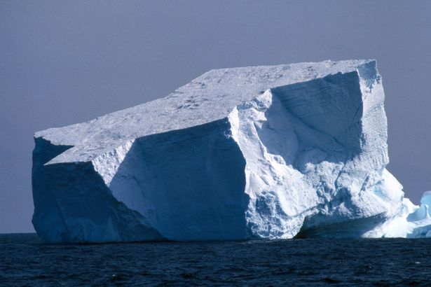 Iceberg that sunk the Titanic was 100,000 years old and originally weighed 75million tonnes