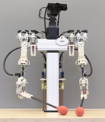 A robot with human-like grace and precision